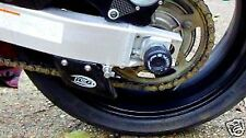 R&G RACING BLACK SWINGARM PROTECTORS Suzuki GSX-R600 (2004 K4)