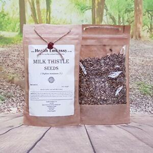 Milk Thistle Seeds ( Silybum marianum ) - Health Embassy 100% Natural