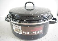 Direct-fired Open Fire Roasting Pot 24cm, Sweet Potato, Corn, Chestnuts, Shrimp