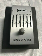 MXR M-109S Six Band Graphic EQ Equalizer M109S Pedal 6 Band (OPEN BOX SCRATCHES)
