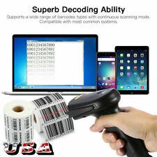 Automatic Laser Handheld Wireless Bluetooth Barcode Scanner Bar Code Reader NEW