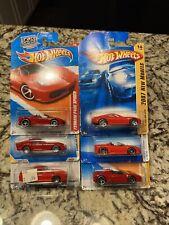 Hot Wheels Ferrari Lot 6 Cars F430, 250GTO,550,599,F430,458 California Dream