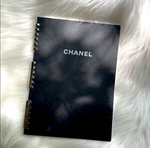 New Chanel Monogram Large Agenda Notebook Diary Refill Paper GM A5 Size
