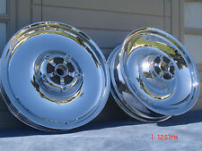 Harley Davidson Chrome VROD V-ROD VRSCA VRSCB 02-06 Wheels Rims  Exchange Only
