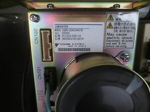 YASKAWA-Motoman SGDR-C0A250A01B SERVOPAK AMP CONVERTER, 90 days warranty