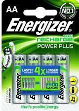 4 x Energizer AA Rechargeable Batteries 2000 mAh NiMH