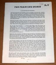 Prancing Horse Magazine #31  Ferrari Club of America