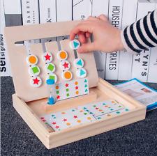 Kinder Baby Holz Geschicklichkeitsspiel Holzspielzeug Hobby Lernspielzeug Puzzle