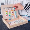 Kinder Baby Holz Puzzle Geschicklichkeitsspiel Holzspielzeug Hobby Lernspielzeug