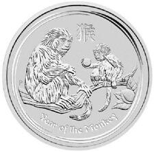 Australien - 1 Dollar 2016 - Lunar II. - Jahr des Affen - 1 Oz Silber ST