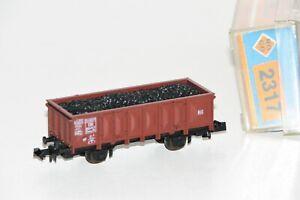 Roco N 2317 Hochbordwagen der DB mit Kohleladung OVP TM2061