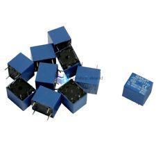 10Pcs JQC-3F 5 Pins SPST Power Relay DC 9V Coil 7A 240VAC 10A 125VAC/28VDC