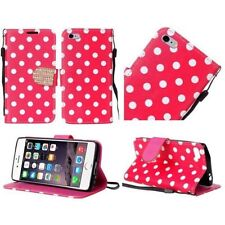 Étuis, housses et coques etuis portefeuilles rouge iPhone 6 pour téléphone mobile et assistant personnel (PDA)