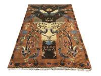Afghan Kilim Rug Wool Vintage Tribal HandKnotted Area Carpet Handmade 4x6