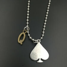 Queen of Spades Pendant Necklace Lifestyle Fetish