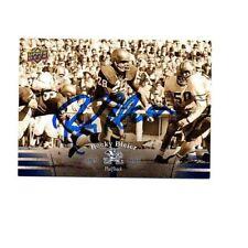Rocky Bleier Notre Dame Irish hand signed autographed 2013 Upper Deck card ND#