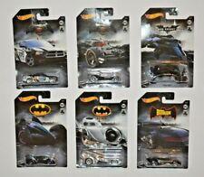Mattel HotWheels Auto Batman vs Superman / alle 6 Autos im Set ca.6 cm groß