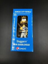 SLUGGERRR Mascot Bobblehead Limited Edition 2019 Kansas City Royals PEPSI Promo!