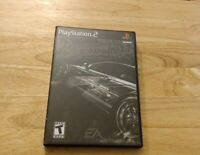 Need for Speed: Most Wanted -- Black Edition (Sony PlayStation 2, 2005), CIB