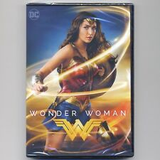 Wonder Woman 2017 PG-13 superhero movie, new DVD, over 2 hours Special Features