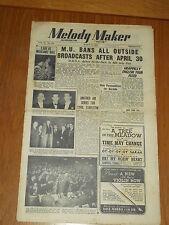 MELODY MAKER 1948 #761 MAR 6 JAZZ SWING CYRIL STAPLETON GERALDO GRAPPELLY FOX