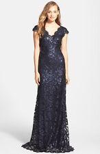 NWT! Tadashi Shoji Sequin Lace Gown (10) $438+
