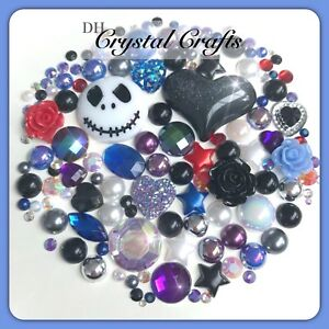 Jack The Nightmare Before Christmas Cabochons Gems And Pearls Flatbacks Decoden