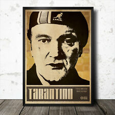 Quentin Tarantino poster artistico film cinema movie scoresese Pulp Fiction