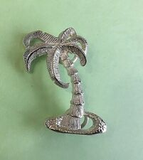 Clasp - Palm Tree Sterling Silver 925 New Used with Convertible bracelet