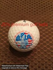LOGO GOLF BALL-NEW YORK STATE PIPE TRADES ASSOCIATION.USA FLAG/STATUE OF LIBERTY