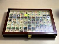 82 periodic table Element Tile Samples in Luxury Wooden Display Periodic Table