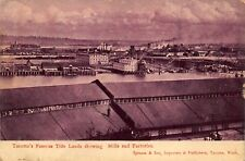 Tacoma Washington Tide Lands showing Mills and Factories