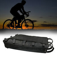Electric Bike Trapezoid Bag Bicycle Rear Ebike li-ion 18650 Battery Pack Storage