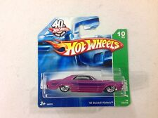 Hot Wheels '64 Buick Riviera Treasure Hunt '11 short card FREE Shipping T-hunt