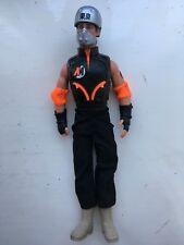 "CLASSIC 12"" HASBRO 2000 GI JOE ACTION MAN FIGURE ROLLER STREET SKATER"