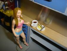 1/18 -Cup of Coffee & a Piece of Cake for your shop/garage/diorama