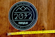 THRITY TWO Snowboard STICKER Decal 32 NEW