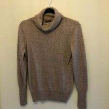 Jaeger 100% Cashmere wool Polo neck Jumper Size L