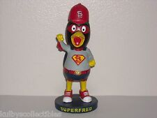 "Fredbird St. Louis Cardinals Mascot Sga Bobble Head 2015 Limited Ed* ""SuperFred"""