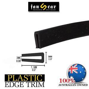 6.5M Rubber Seal Edge Trim U Channel Car Window Sharp Edging Guards Protection