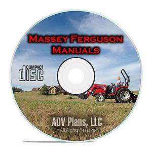 Massey Ferguson Tractor Shop Manuals, MF35, MF135, TE-20, TO-20, TO-30, CD F53