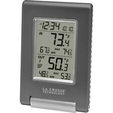 OPENED BOX La Crosse Technology WS-9080U-IT Wireless IN/OUT Temperature Station