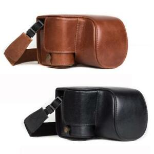 """MegaGear """"Ever Ready"""" Genuine Leather Camera Case for Sony Alpha A6500 16-50 mm"""