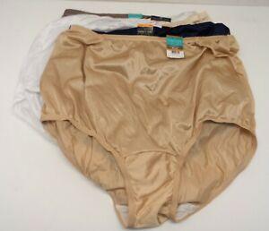 Vanity Fair Women's *7 Pack* 15712 Tailored Nylon Brief Panty Multi 7/L