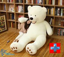 Riesen Teddybär Teddy Weiss Bär Plüsch Eis Bär Eisbär Geschenk ca. 200 XXL Gross