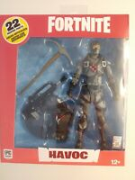 "Fortnite HAVOC 7"" Action Figure McFarlane Toys 22 Moving Parts New NIB"