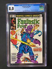 Fantastic Four #243 CGC 8.0 (1982) - Newsstand Edition - Everyone vs Galactus!