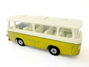 Matchbox Superfast No 12 Setra Coach Gold White Roof Vintage Unboxed