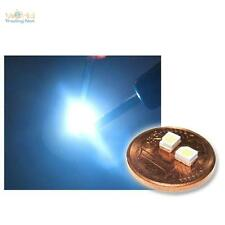 10 SMD LEDs pur-weiß PLCC-2 3528 pure weiße SMDs, white bianco blanc PLCC2 SMDs
