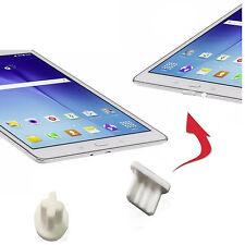 4 X Staub Schutz Stöpsel Huawei Ideos S7 Slim 7 MICRO USB AUX Eingang Weiß